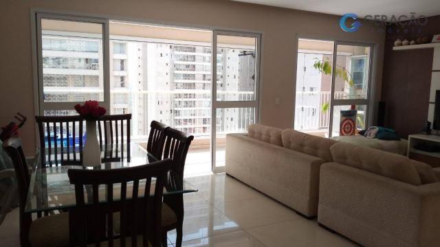 Apartamento com 3 dormitórios à venda, 131 m² por r$ 690.000 - jardim das indústrias - são - Foto 4