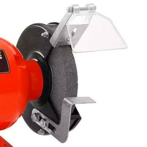 """Motoesmeril de bancada 1/2 hp para rebolo de 6"""" - Schulz (Novo) - Foto 2"""