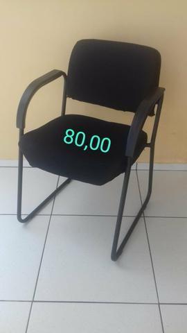 Cadeiras estofadas de escritório - Foto 2