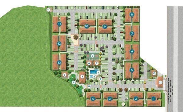 Apartamento com 02quartos/suite 61 m² por R$ 195.000,00 - Praia da Baleia - Serra/ES - Foto 7