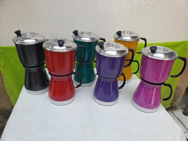 Cafeteira coloridas - Foto 3