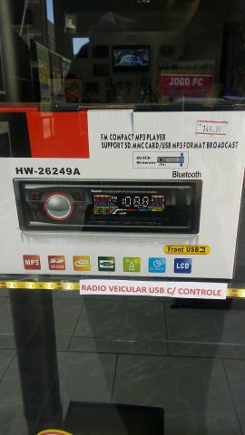 Radio Veicular USB para Carro