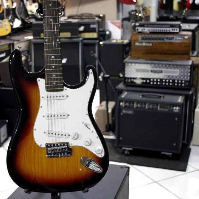 Condor Guitarra Stratocaster Rx-10 Sunburst Produto Novo Loja Fisica - Foto 2