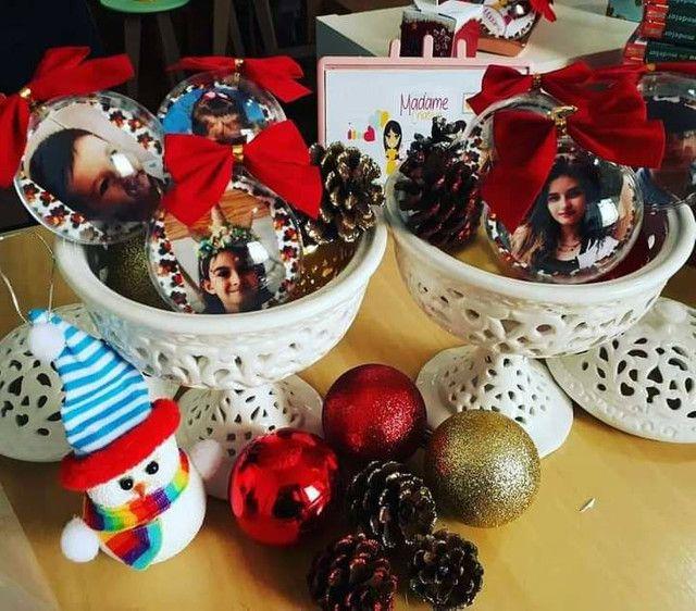 Bola de Natal personalizada Largo da Batalha - Foto 3
