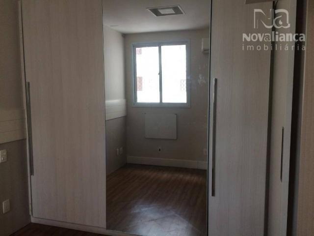 Apartamento com 3 quartos para alugar, 85 m² por R$ 1.500/mês - Itapuã - Vila Velha/ES - Foto 9