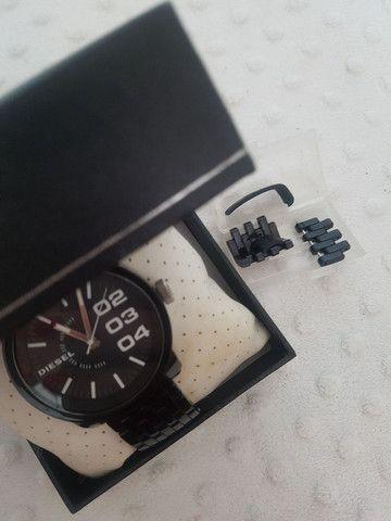 Relógio Diesel Unissex Preto - ORIGINAL  - Foto 5