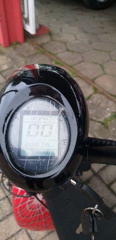 Motocicleta eletrica 60v, chega de ipva,licenciamento ,e gasolina - Foto 6