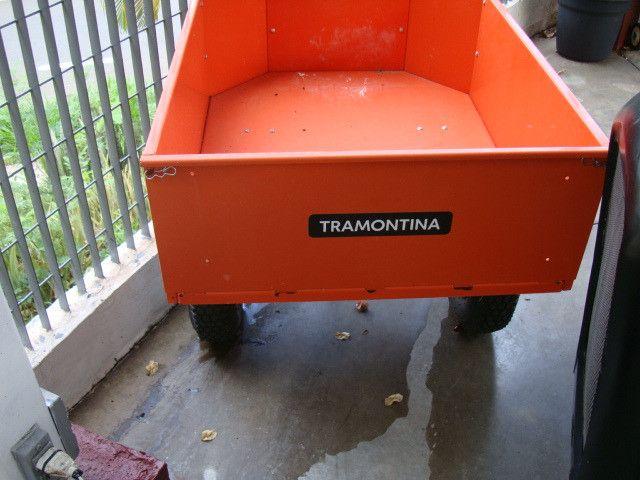Triturador de resíduos orgânico Trapp TR 200 e Carreta Agrícola Tramontina 72x94 cm - Foto 6