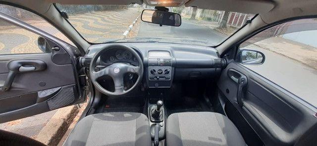 Corsa Classic 1.0 2005 ú dono - Foto 2