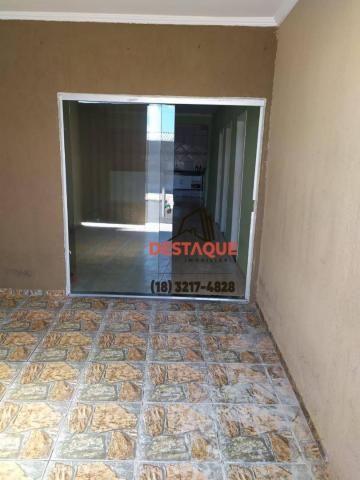 Casa com 2 dormitórios para alugar, 200 m² por R$ 700,00/mês - Parque José Rotta - Preside - Foto 2