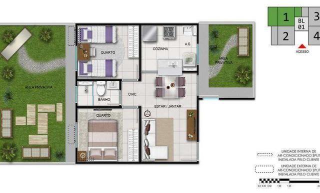 Fonte das Artes - Parque da Vinci - Apartamento de 2 quartos em Fortaleza, CE - ID3865 - Foto 5