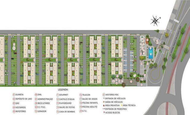 Norte Boulevard Residencial - Apartamento 2 quartos em Natal, RN - 47m² - ID3946 - Foto 10