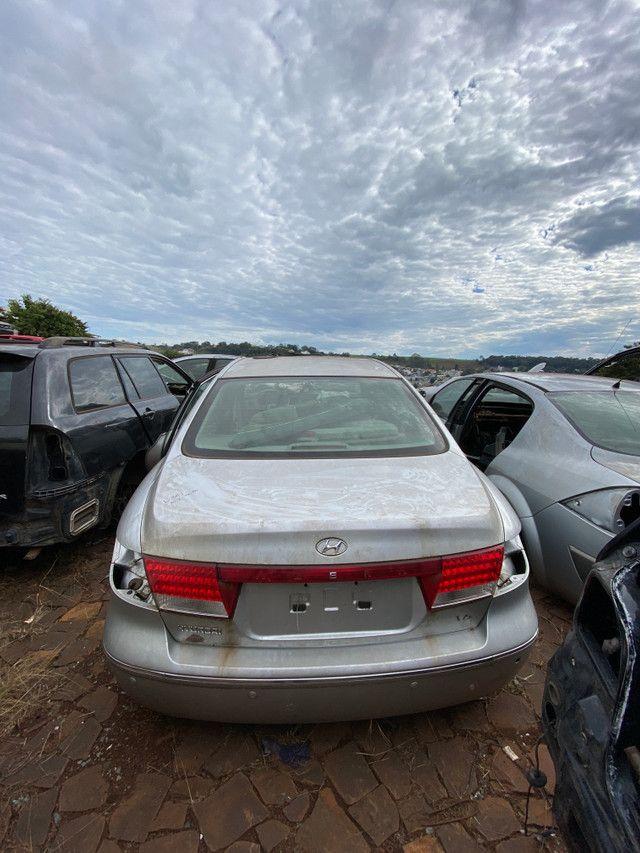 Sucata para retirada de peças- Hyundai Azera