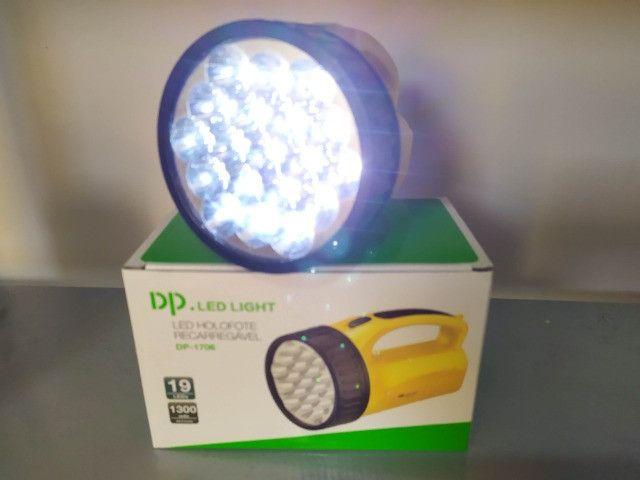 Lanterna Potente Recarregável - Foto 3
