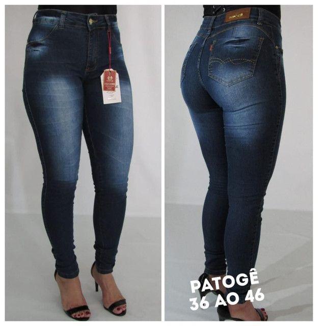 Atacado Calças Jeans feminina  - Foto 2