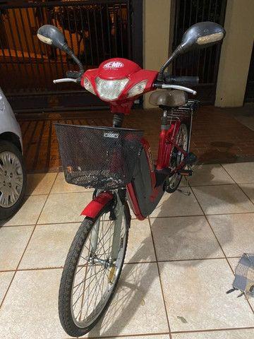 Bicicleta Elétrica (Baterias novas c/ garantia)