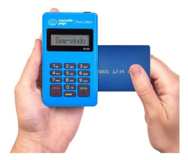 Máquina de cartão Mercado pago Atacado! - Foto 6