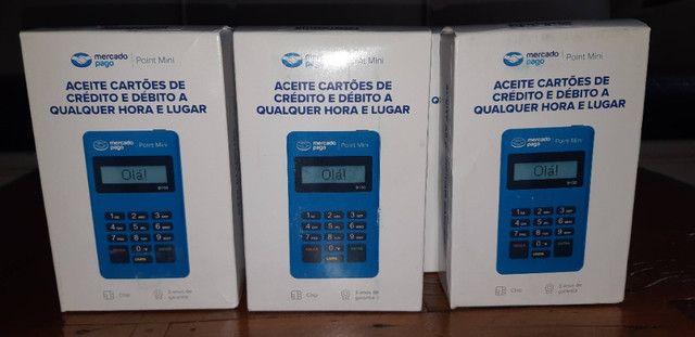 Máquina de cartão Mercado pago Atacado! - Foto 3
