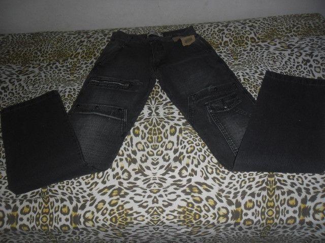 Calça masculina tamanho 36 - Foto 2