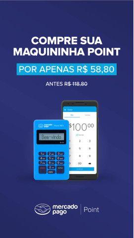 Maquinha Mercado Pago Point Mini 3 anos de garantia , para retirar ou entrega a cobrar - Foto 4