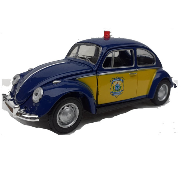 Miniatura Fusca Polícia Federal rodoviária  - Foto 3