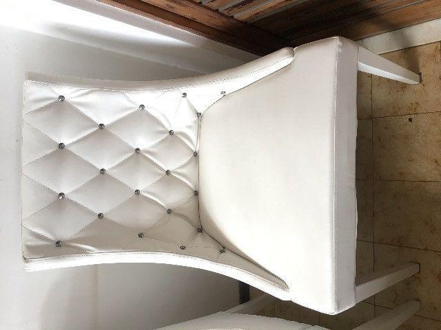 Cadeiras para mesa de jantar 4 unidades
