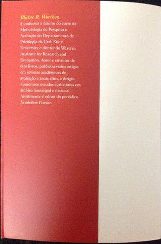 Livro Avaliação de Programas - Concepções e Práticas - Foto 3
