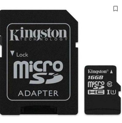 Cartão De Memória Micro Sd Kingston 16gb (6 meses de uso)