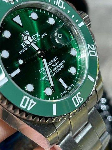 Rolex submariner hulk c/2 anos garantia  - Foto 4