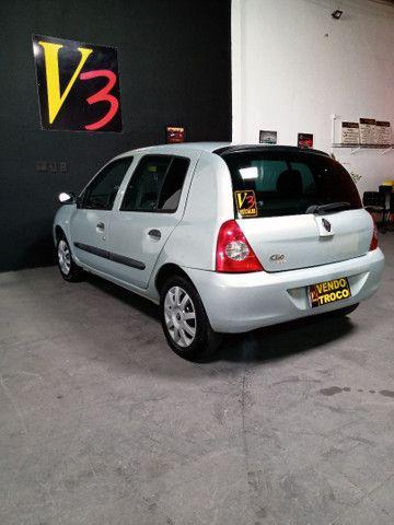 Renault Clio!!! Aceito trocas em motos - Foto 5
