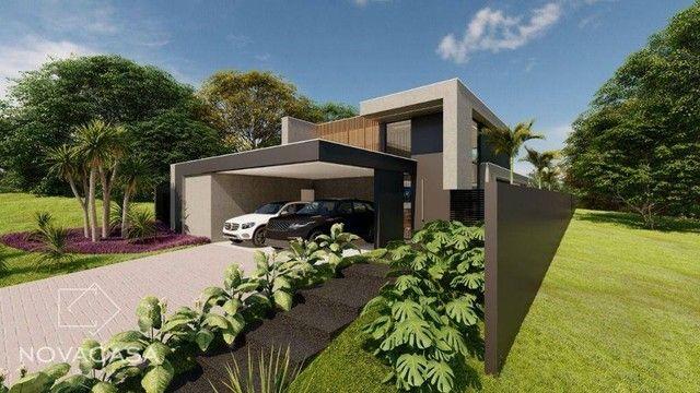 Casa com 4 dormitórios à venda, 318 m² por R$ 1.990.000,00 - Alphaville Lagoa dos Ingleses - Foto 3