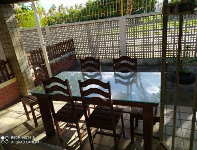 Casa duplex em condomínio em M.Farinha/100m2/mobiliado/4 quartos/1 suíte/piscina e mais  - Foto 5