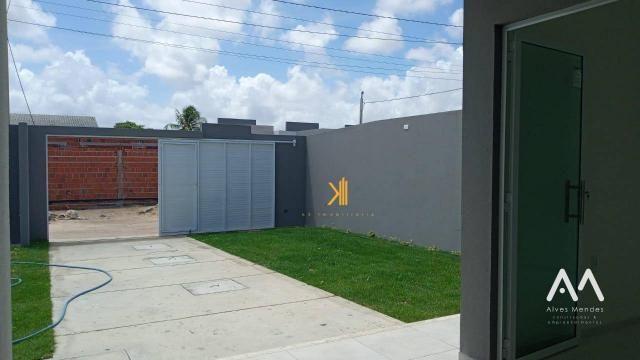 Casa Plana com 3 dormitórios sendo 2 suítes à venda, 90 m² por R$ 229.000 - Encantada - Eu - Foto 5