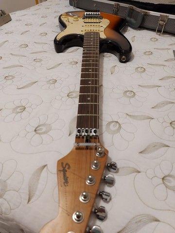 Guitarra Fender Squier Stratocaster Korea com Floyd Rose - Foto 5