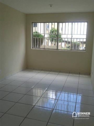 Apartamento com 2 dormitórios para alugar, 45 m² por R$ 550,00/mês - Jardim Ipanema - Mari - Foto 2