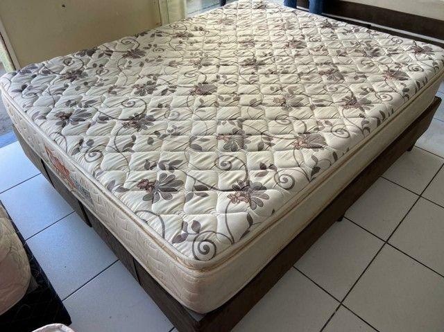 Probel cama queen size semi nova espuma - Foto 6