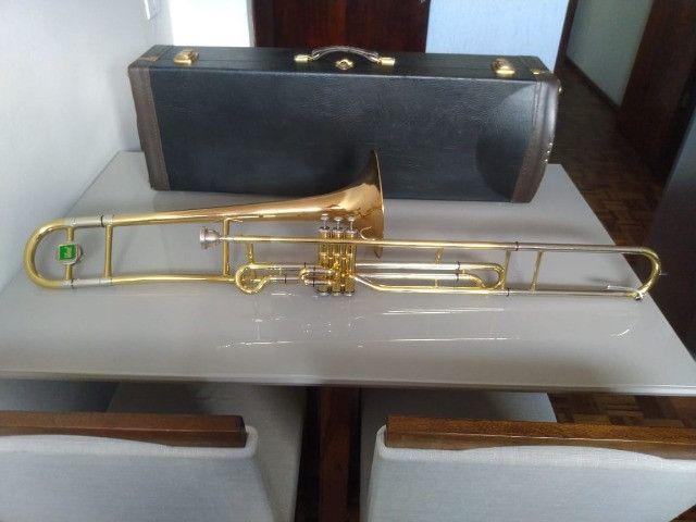 Trombone de Pisto P. Weingrill Edição Especial 100 Anos - Raridade
