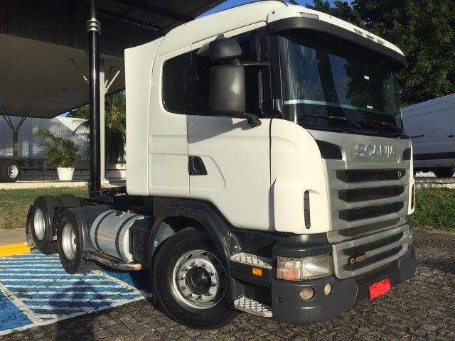 Scania G-420 (6x2) ano 2010