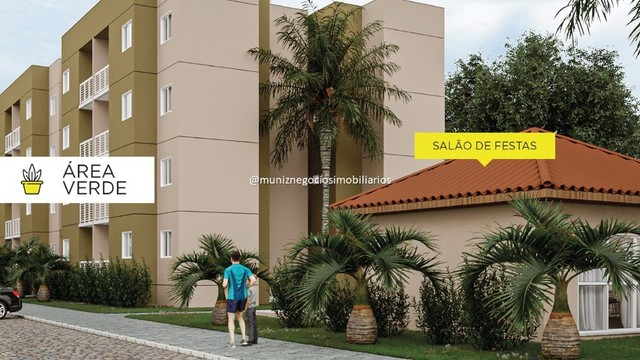R  Grande lançamento AP  com 2 quartos , lazer completo  , em Camaragibe  !  - Foto 5