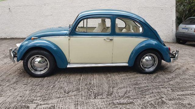 Fusca 1966 azul - Foto 6