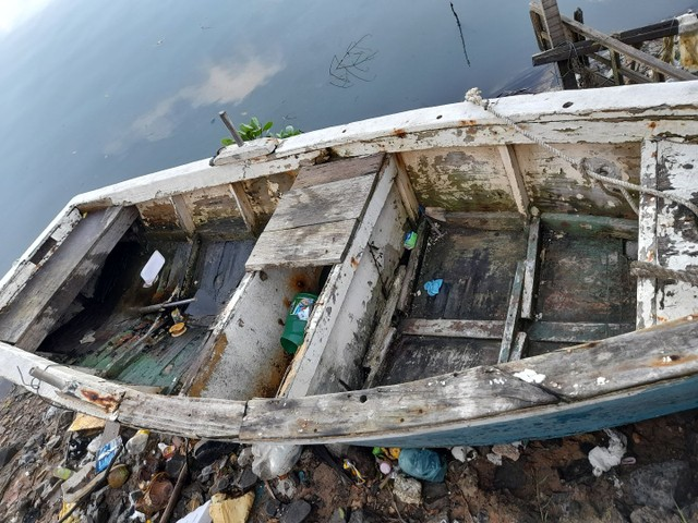 Barco com moto pra vender logo - Foto 3