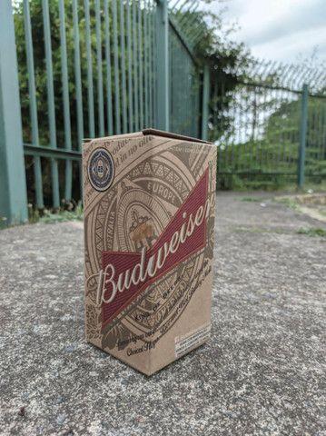 Copo original da Budweiser - vidro resistente - Foto 5