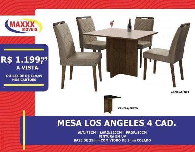 Mesas com cadeiras com ótimos preços - Foto 2