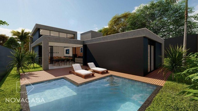 Casa com 4 dormitórios à venda, 318 m² por R$ 1.990.000,00 - Alphaville Lagoa dos Ingleses - Foto 12