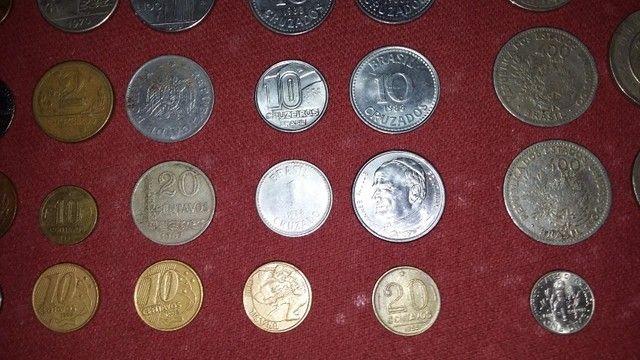 selos moedas e cédulas antigas - Foto 3
