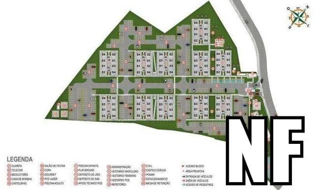 NF- Apartamento em Olinda bairro de Fragoso 2 quartos lazer completo  - Foto 8