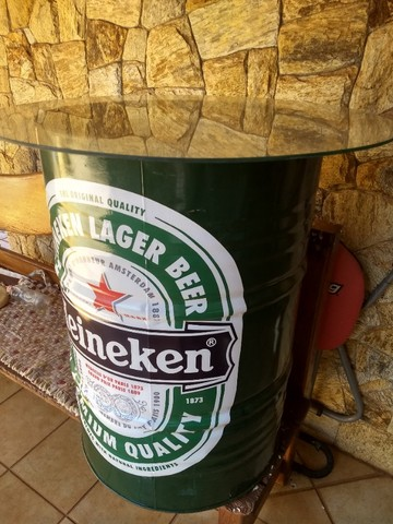 Tambor Decorativo Heineken 200 Litros - Foto 3