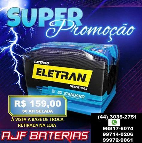 Bateria automotiva 60 amperes