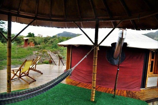 Vale do Capão Casa Artística 15 mil m2 com rio 2 quartos a menos de 1km da vila - Foto 14
