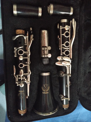 Clarinet Eagle sib 17 chaves - Foto 3